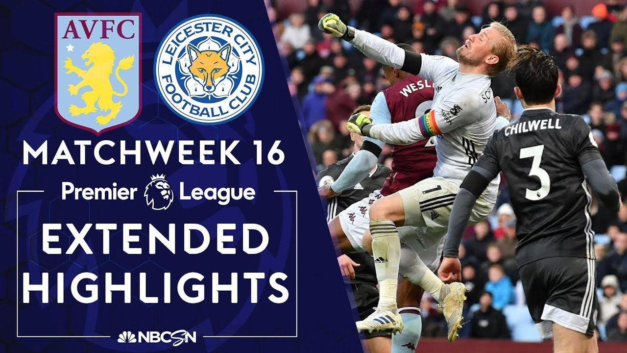 Aston Villa v. Leicester City (With images) Leicester