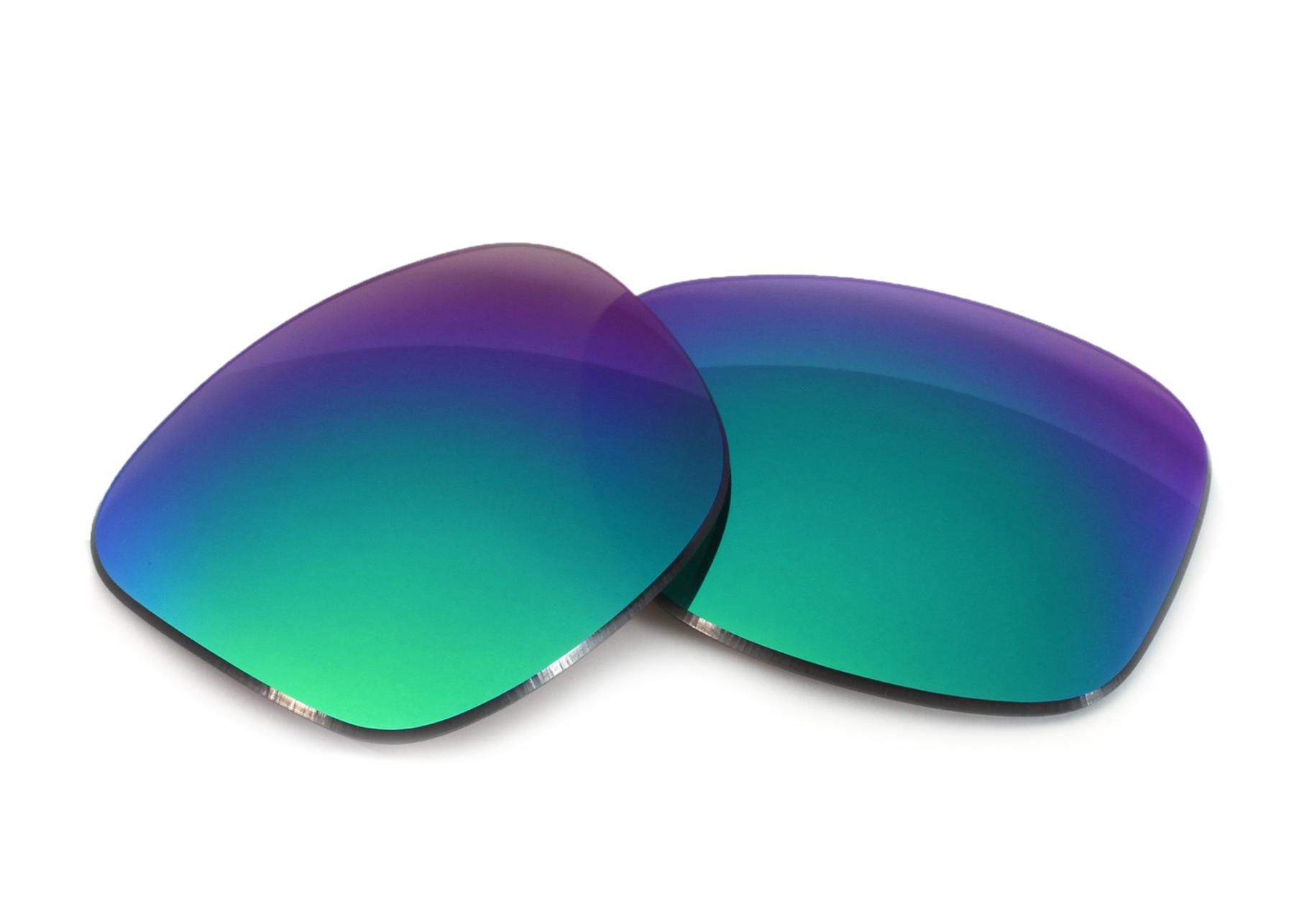 e637087381 Oakley Dispatch 2 Grey Lens with Green Mirror Replacement Lenses ...
