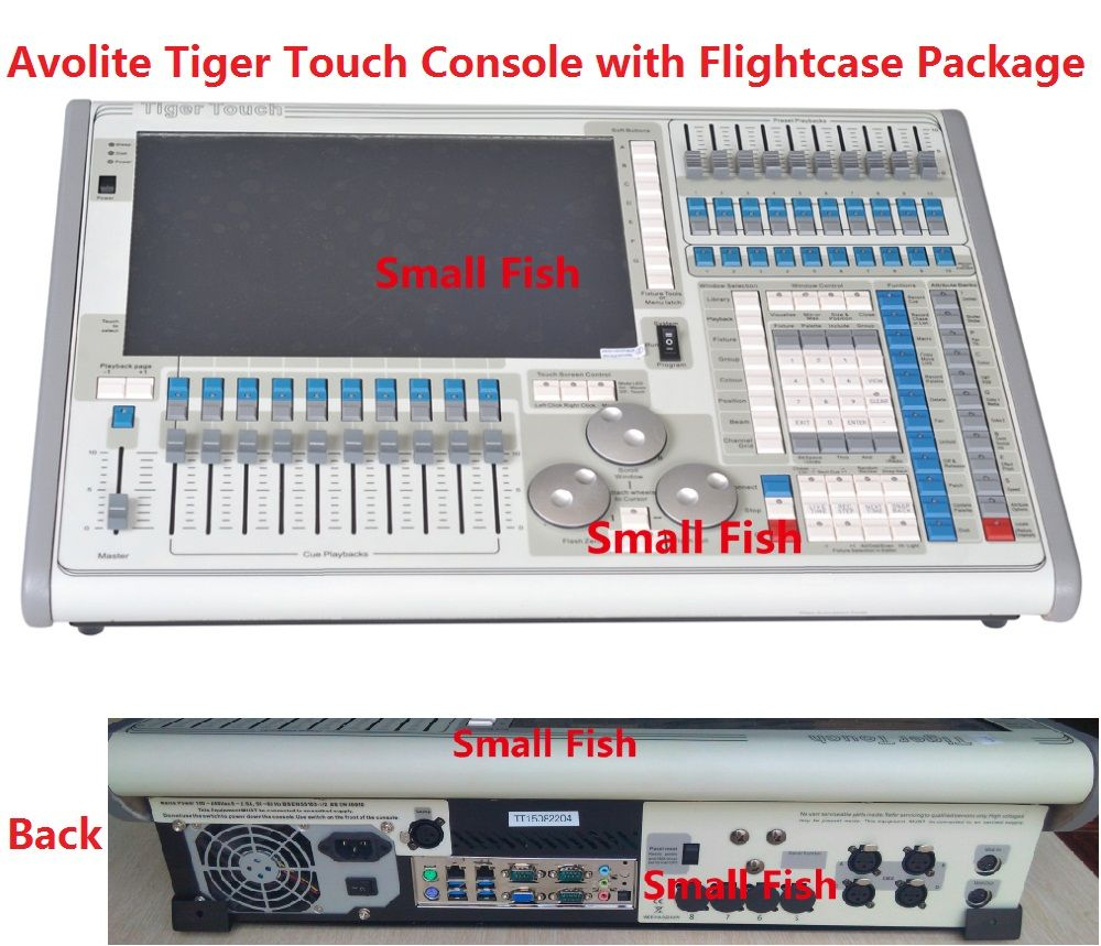titan operating system tiger touch