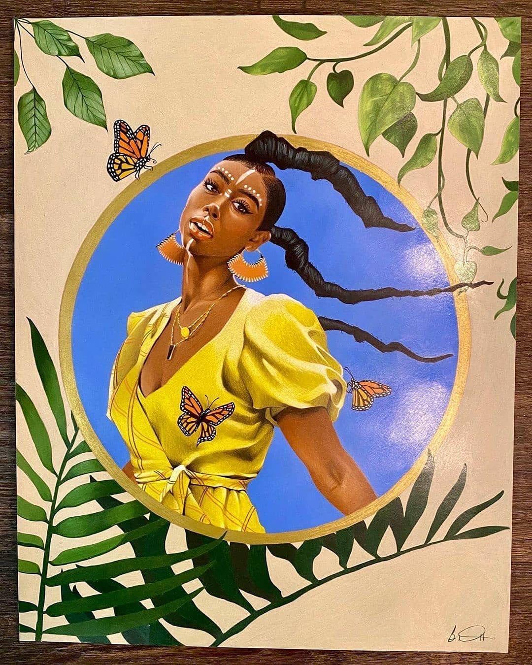 Love Black Art 🎨 Blissful Reflection... Swipe ➡️ for the process. 🎨 #Dopeblackart by @fresh_affiliate #photography #art #blackart #artoftheday #artfeature #artdaily #igart #digitaldrawing #realisticdrawing #pencildrawing #artspotlight #igartist #drawing #coolart #dopeart #blackartwork #artgallery #supportblackart #blackartist #coolartwork #artfido #artlife #artwork #dopeblackartist #dopeblackart #Artistatwork #dopeartistatwork