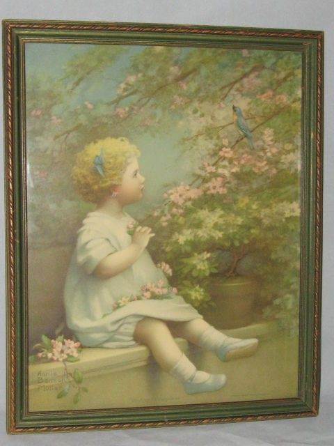 Vintage Annie Benson Muller The Song Of Happiness Bluebird