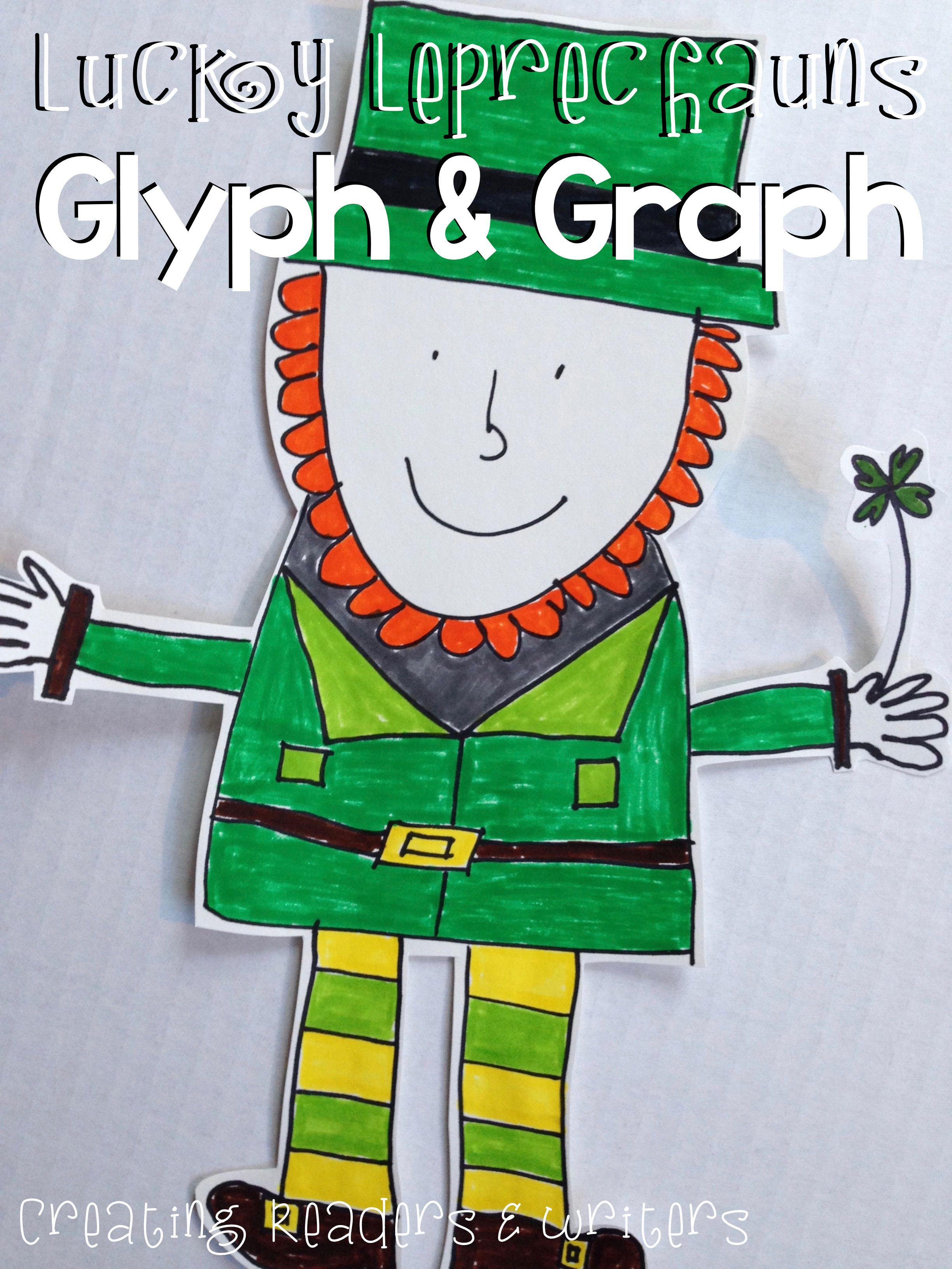 Lucky Leprechauns A Glyph Amp Graph Math Activity For St Patrick S Day