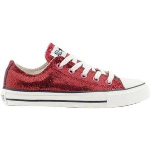 Women s shoes  Converse Chuck Taylor All Star Sparkle - Red ... 8ce408501e