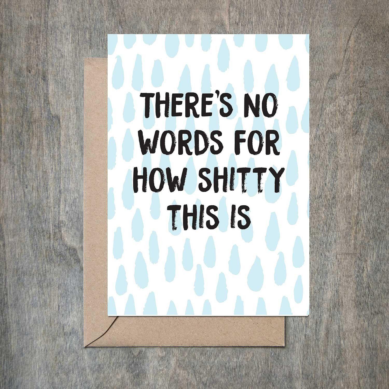 Sympathy Card Funny Sympathy Card Empathy Card Cancer Card Cancer Can It Cancer Card Funny Cancer Card Writing A Sympathy Card Empathy Cards
