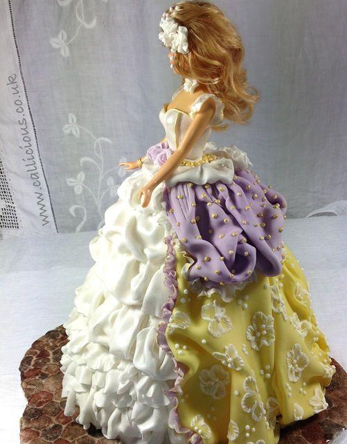 Princess Doll Tutorial - by Callicious Cakes @ CakesDecor.com - cake decorating website