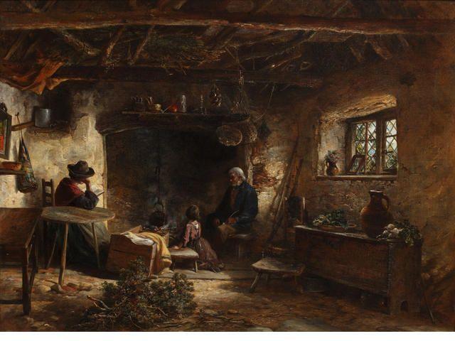 19th Century Scottish Highland Photos Mid 19th Cottage