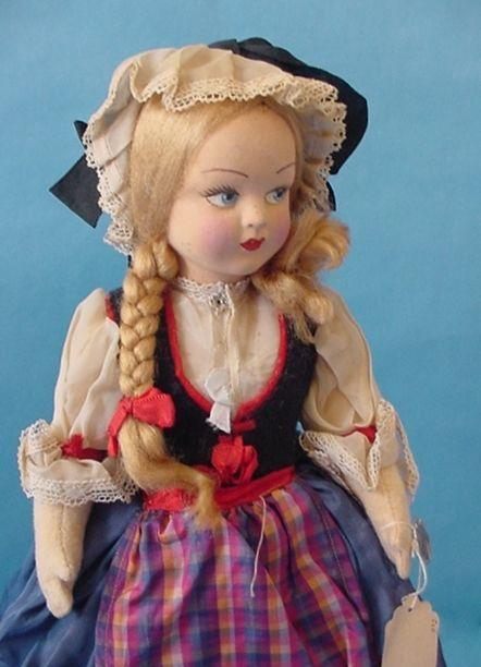 Antique Lenci Doll Italy