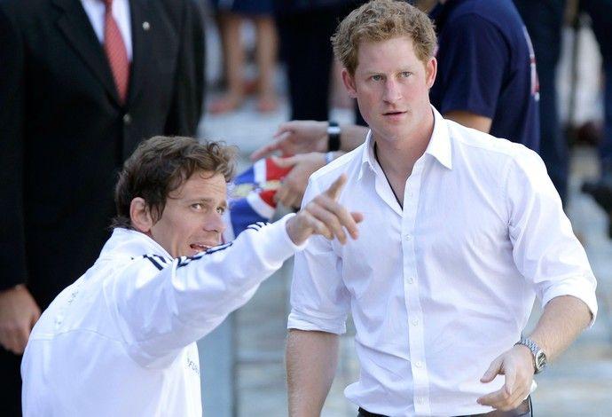 Natação Príncipe Harry e Cesar Cielo Minas Tênis Club