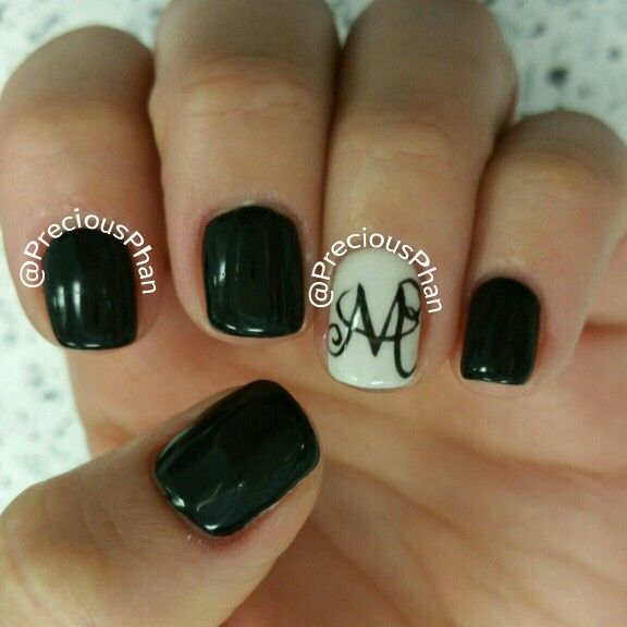 Nail Designs With Letters Best Nail Designs 2018