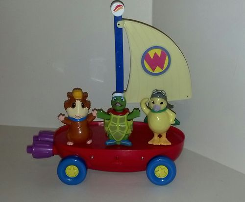 2007 Mattel Wonder Pets Fly Boat With Linny Tuck And Ming Ming