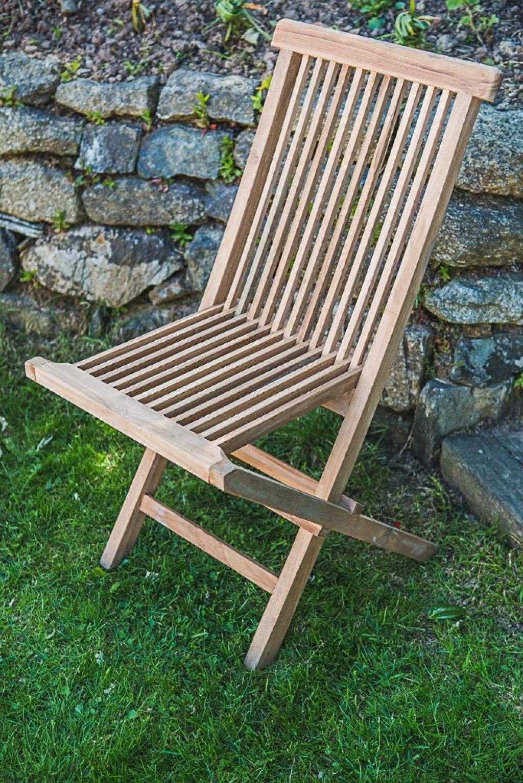 teak folding garden chair garden furniture land