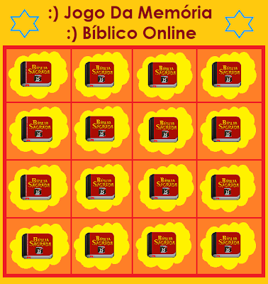 Alegrai Vos Jogo Da Memoria Biblico Online Gratis Desafios Biblicos Biblico Jogos