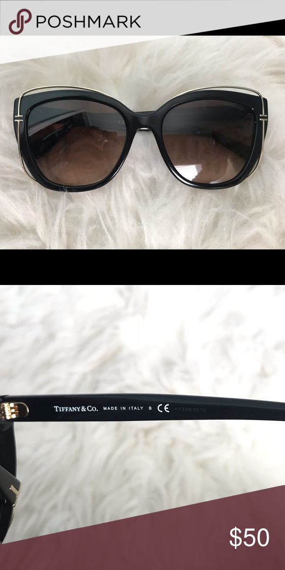 37e297fcc6afc Tiffany   Co. Sunglasses Tiffany T Black Cat Eye Sunglasses Tiffany   Co.  Accessories Sunglasses