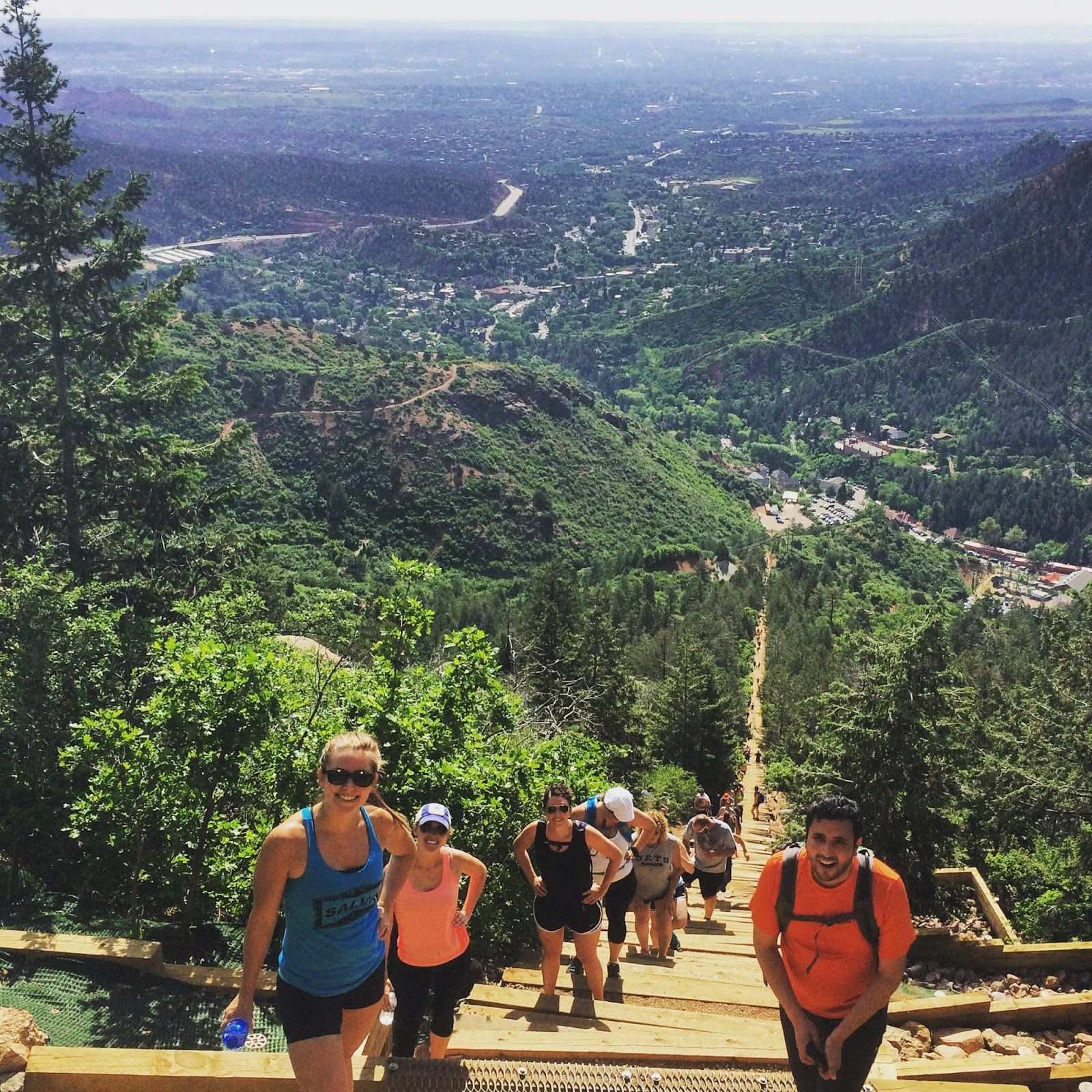 A Long Mile - Manitou Incline #manitousprings