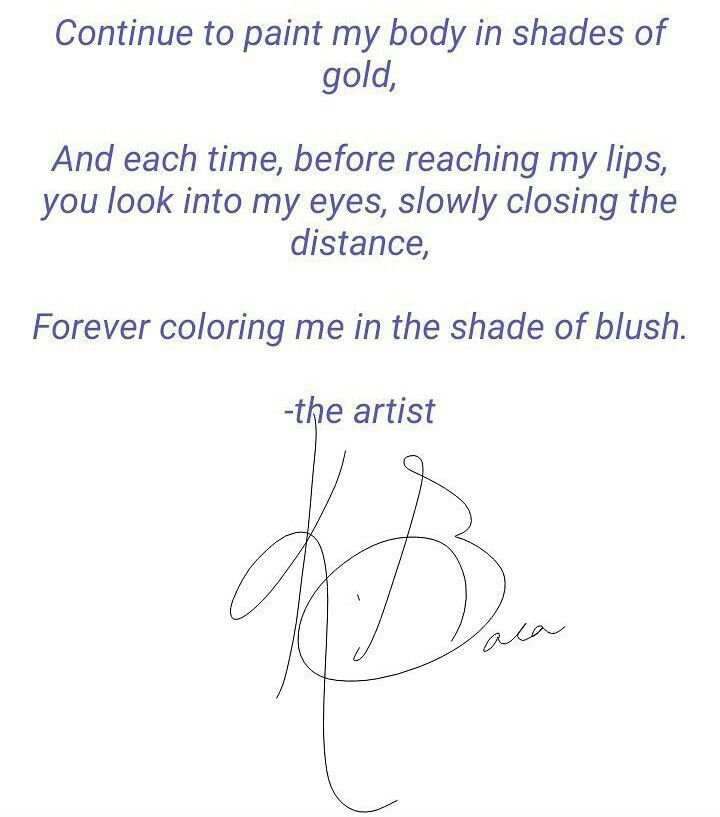 """""""...forever in the shade of blush."""" (via Instagram: @thecutepoet_) #lovepoems #lovequotes #poetry #writers #cute #you"""