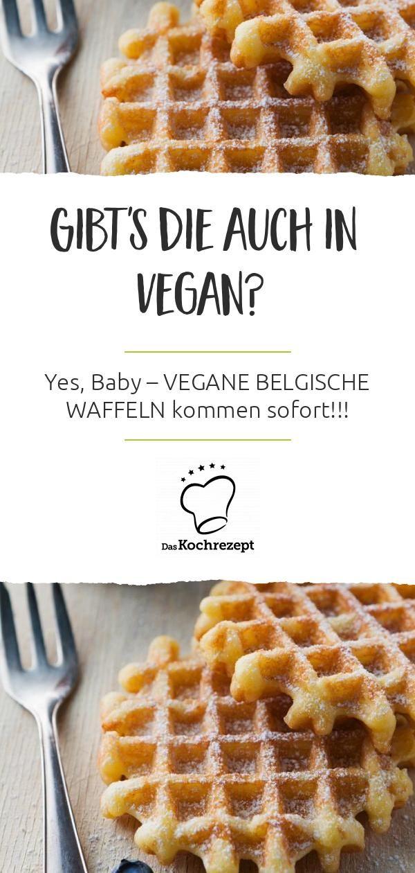 Photo of Vegan Belgian waffles