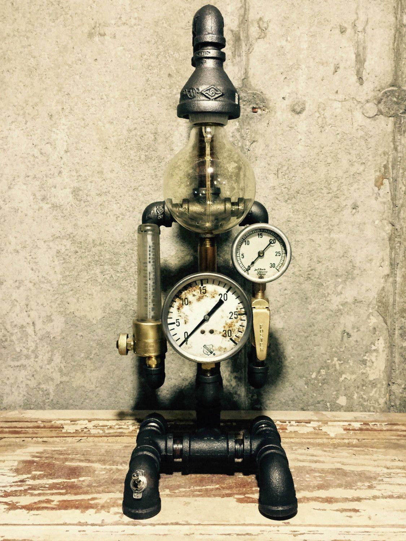 Lighting - Industrial Lighting - Steampunk Lighting - Steampunk Lamp ...