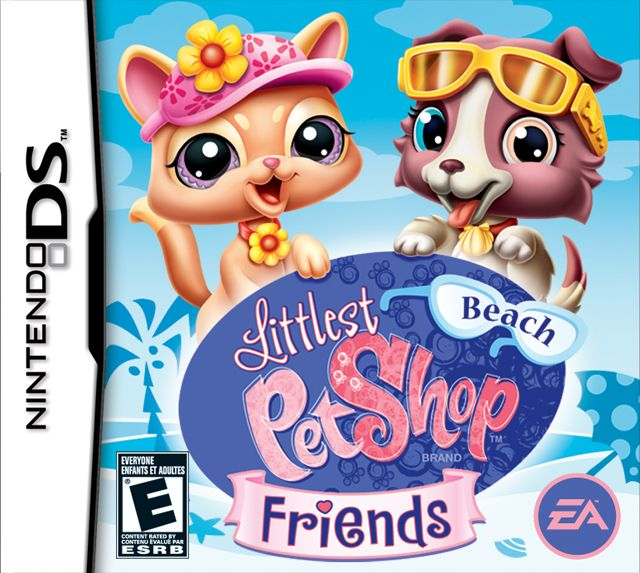 Littlest Pet Shop Beach Friends Ds Game With Images Ds Games