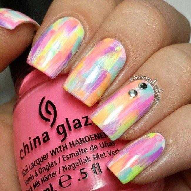 Beautiful nails ideas! #nails #colours #colorful #beautiful #creative #ideas #trends