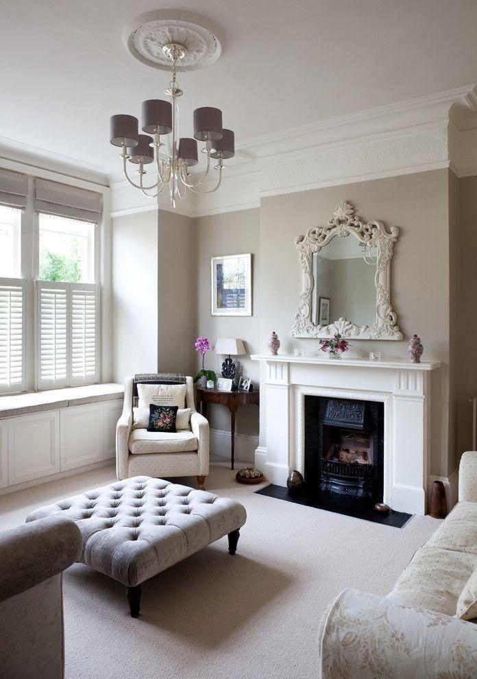 Modern Victorian Lounge Decor Classic Living Room Classic