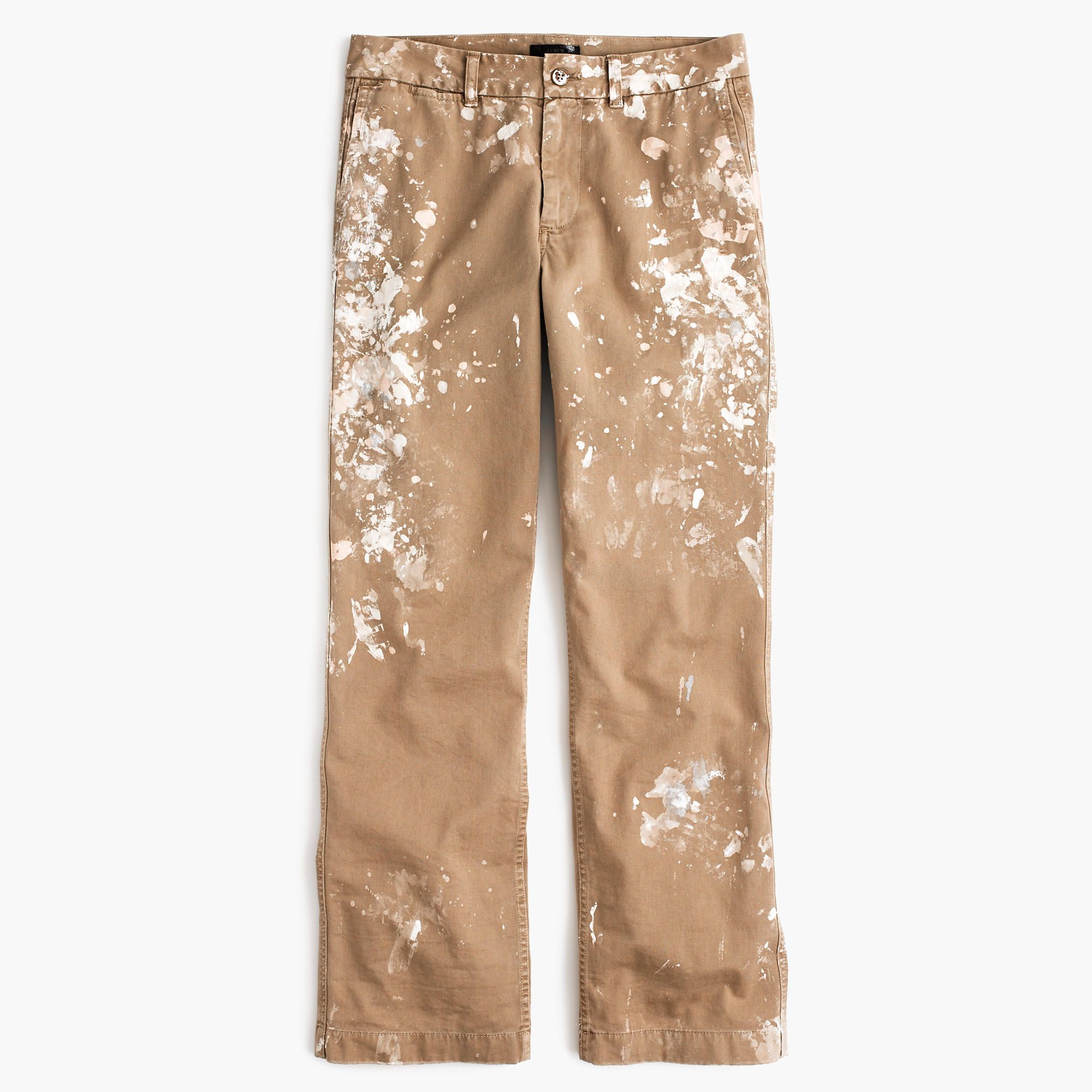 032113a440 J.Crew - Limited-edition boyfriend chino pant in paint splatter ...