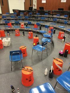 Bucket Drumming Classroom: Blog post includes great suggestions for bucket drumming!