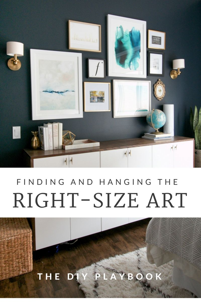You May Be Hanging Your Wall Art All Wrong Here Are The Recommendations For Correct Height To Hang And Tips On How Choose Right Scale Items