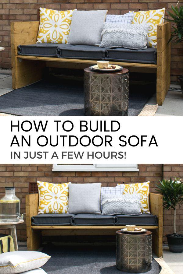 Build an Outdoor Sofa (with Sainsbury\u0027s Home) Furniture