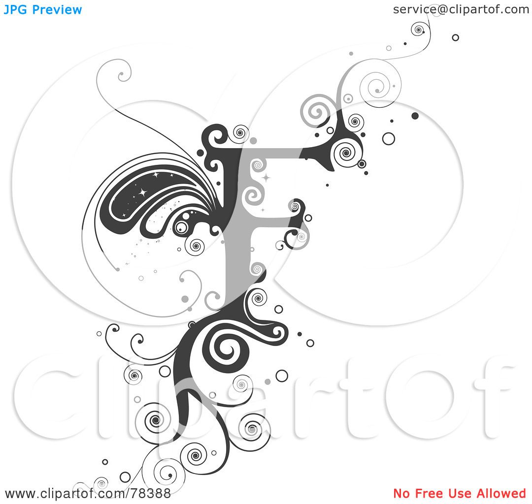 Cool Letter F Designs Royalty-Free (R...
