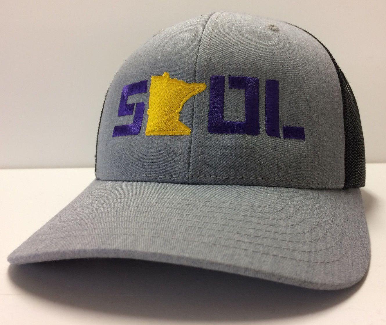 Minnesota Vikings SKOL Vikes SotaStick NFL Snapback Adjustable Hat Mesh  Back Cap 4c432b42e