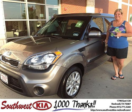Thank You To Dawnelle Rounds All On The 2012 Kia Soul From Kathy Parks And Everyone At Southwest Kia Rockwall Kia Kia Soul Rockwall