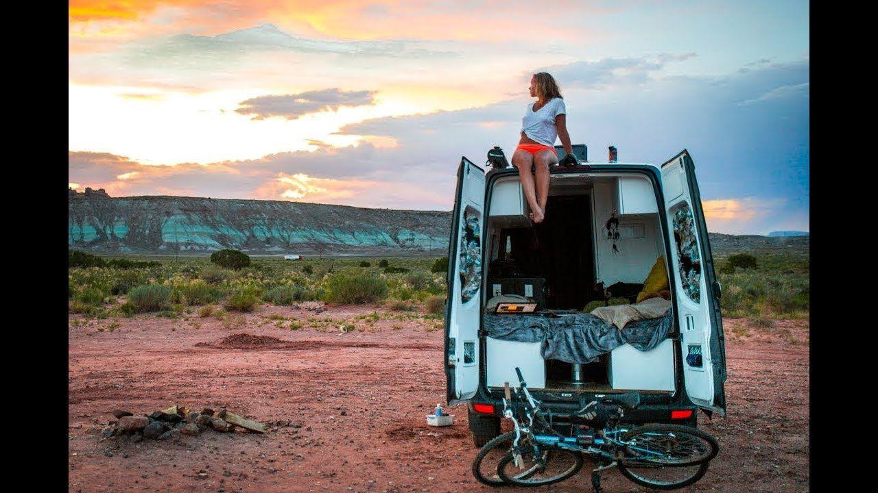 Van Life A Typical Day In Moab Utah How To Live In A Van In