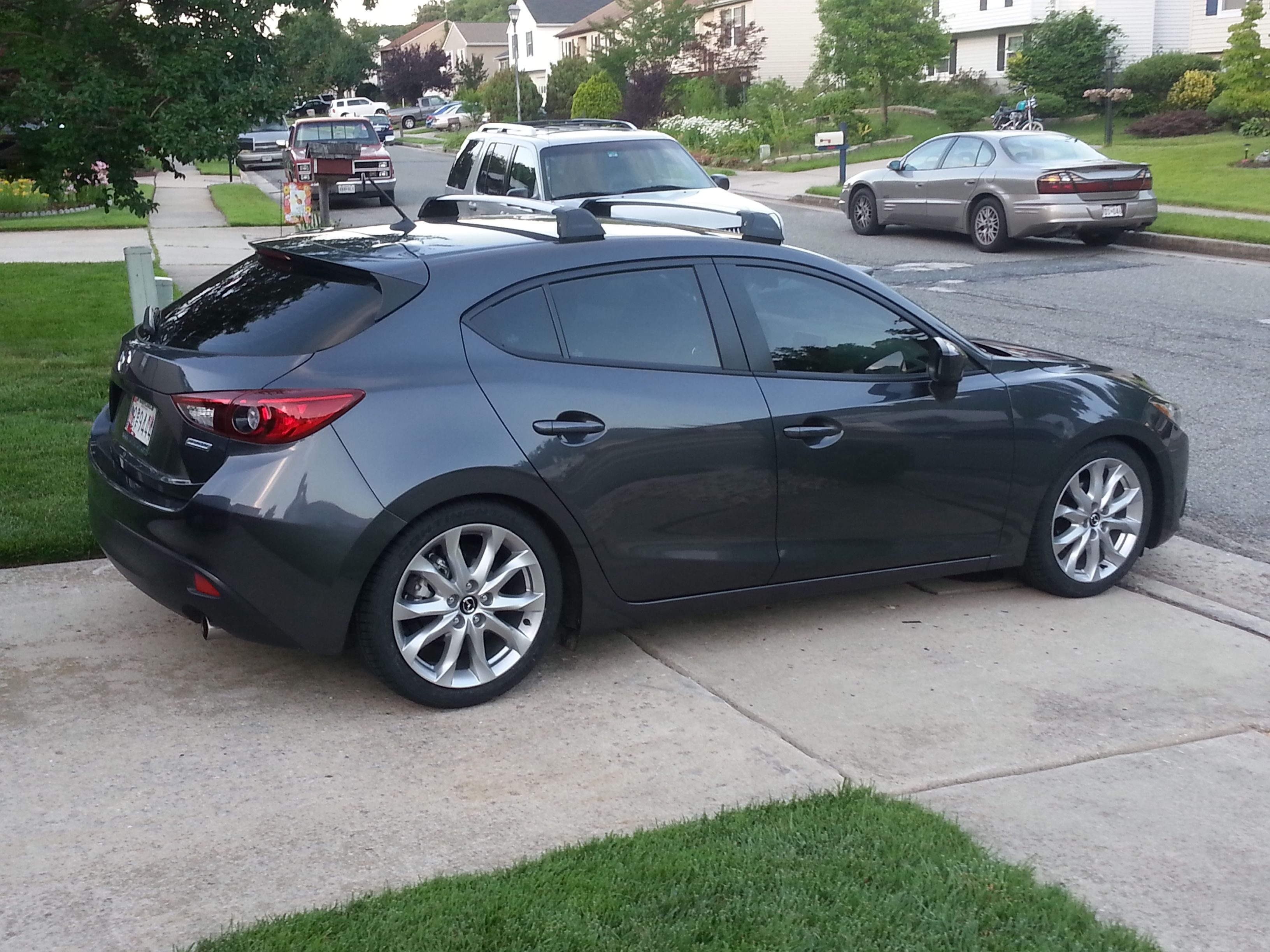 Roof Racks for my Mazda3
