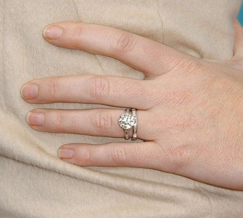 Celebrity Engagement Rings Emily Blunt Celebrity Engagement