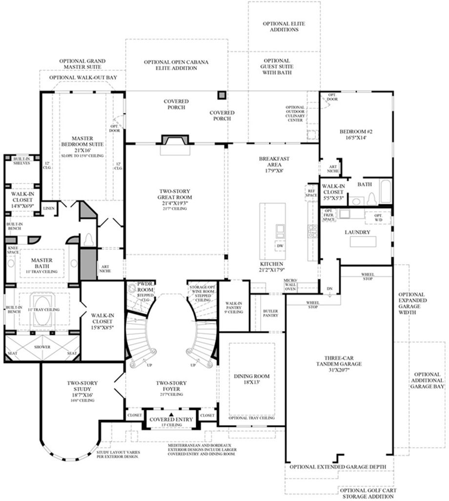 Toll Brothers - Sandhaven 1st Floor | Dream Home | Pinterest | Cinco ...