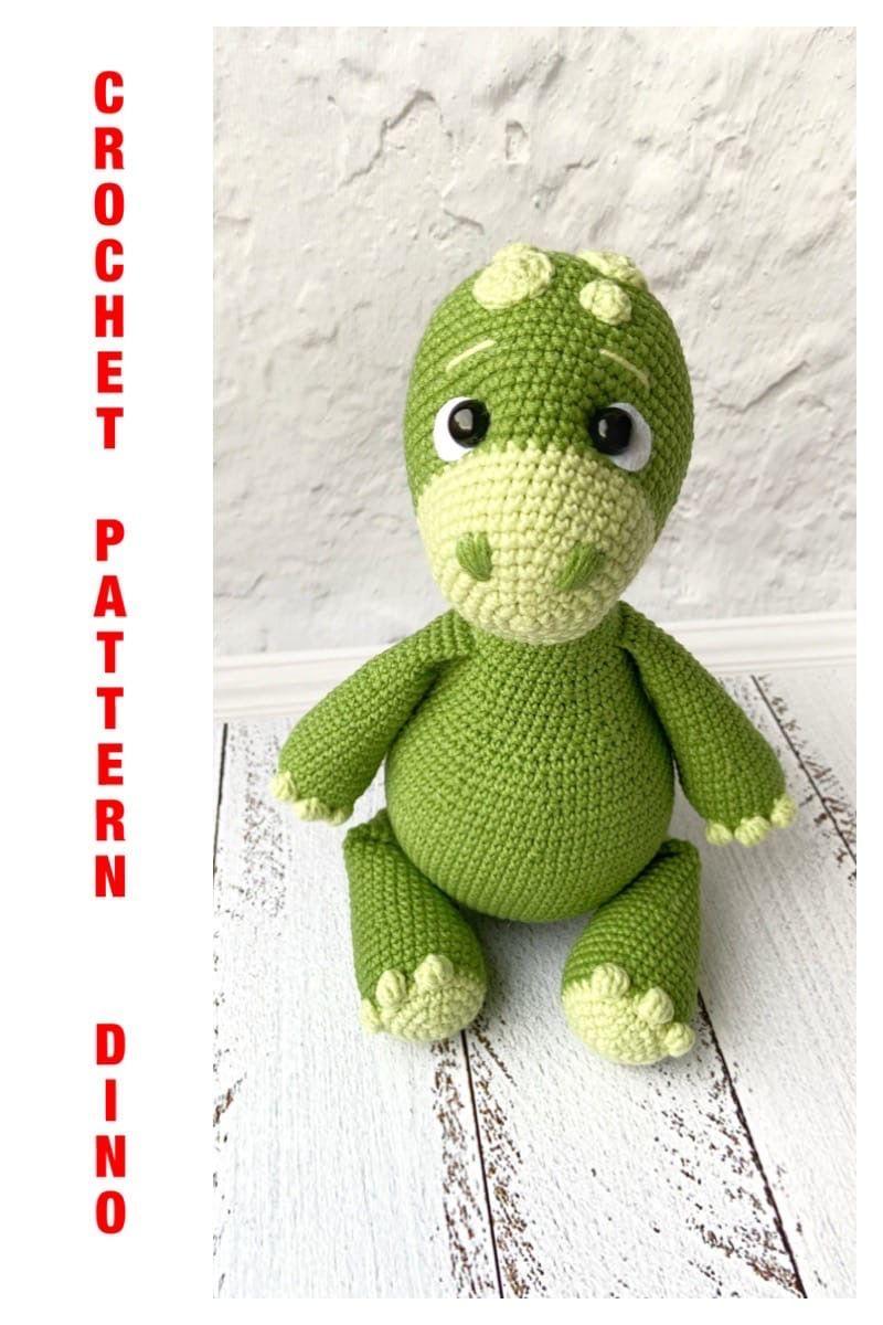 Photo of Crochet PATTERN Dinosaur