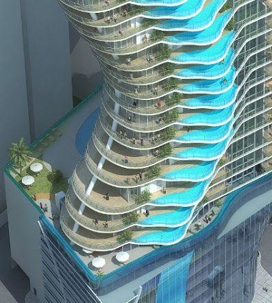 Vezi cum va arata cel mai luxos hotel din LUME! Fiecare camera va avea propria PISCINA - FOTO