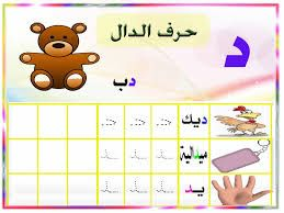 Image Result For حرف الدال Learning Arabic Arabic Alphabet Learn Arabic Alphabet