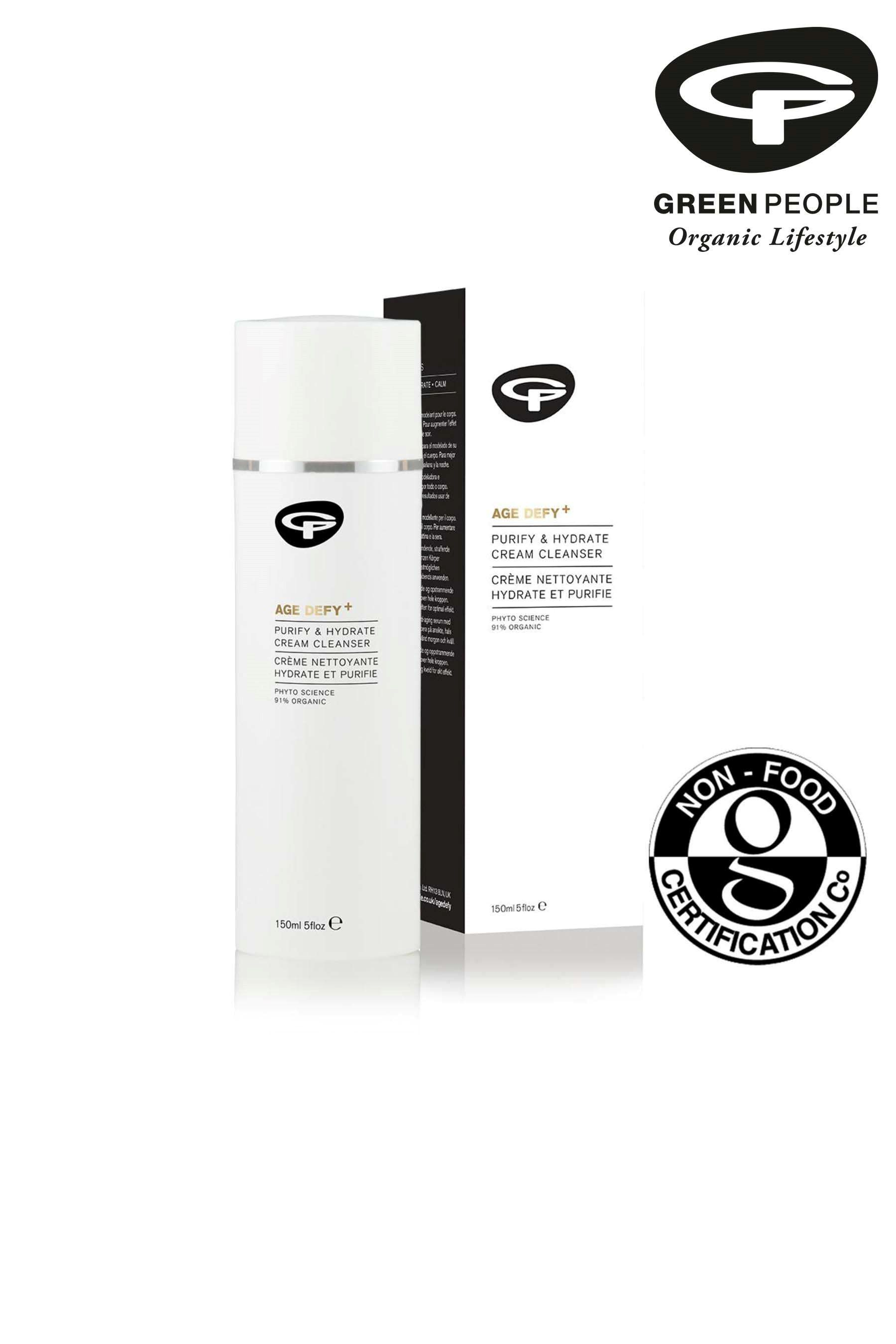 Womens Green People Organic Cream Cleanser, Purify