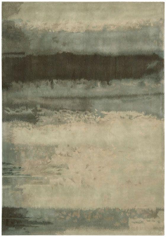 Calvin Klein Luster Wash Contemporary Multi Tone Gray Area Rug
