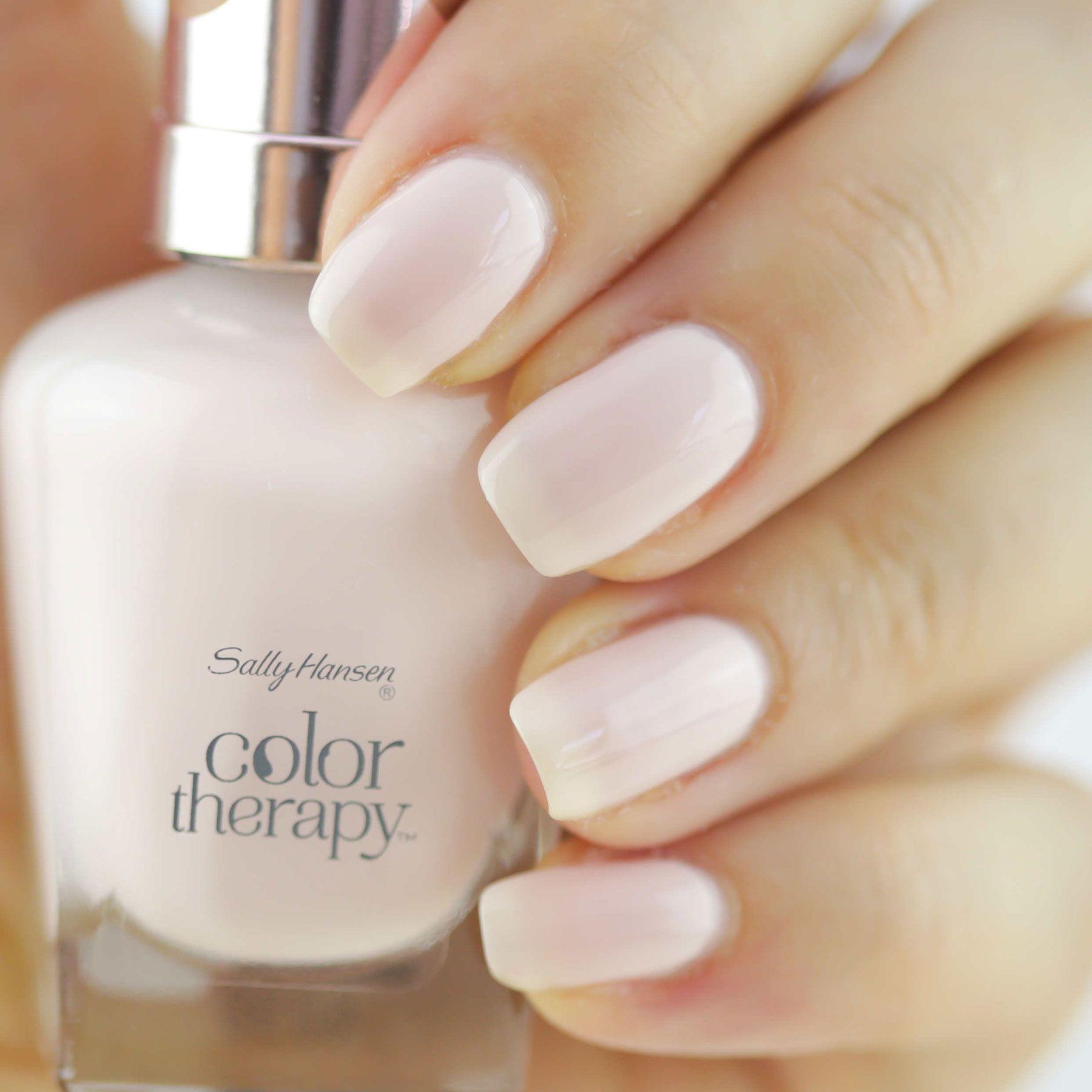 Sally Hansen Color Therapy nail polish in Sheer Nirvana | My MVPs ...