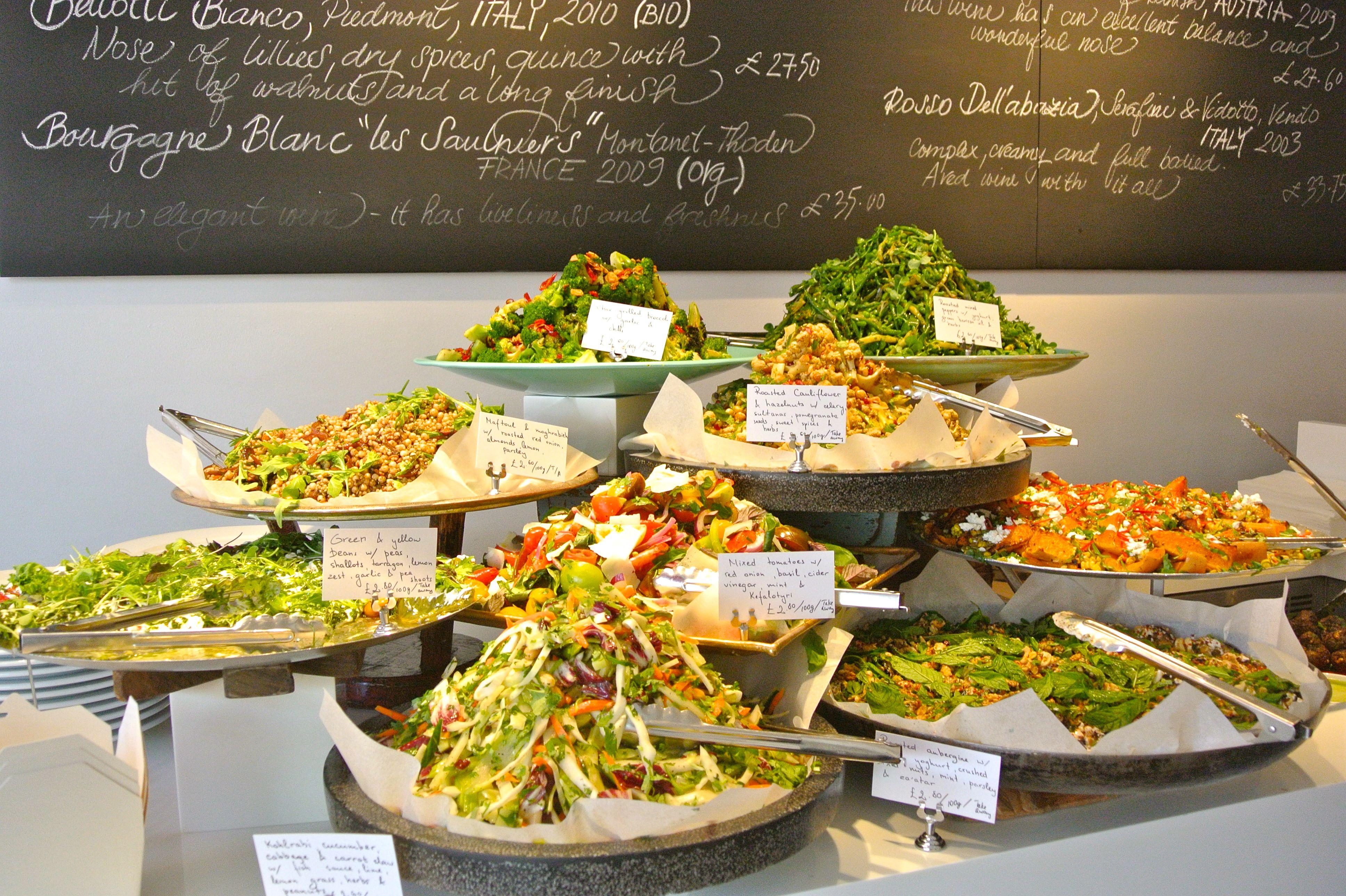 Ottolenghi london cafe google search twist pinterest for Asian cuisine ppt