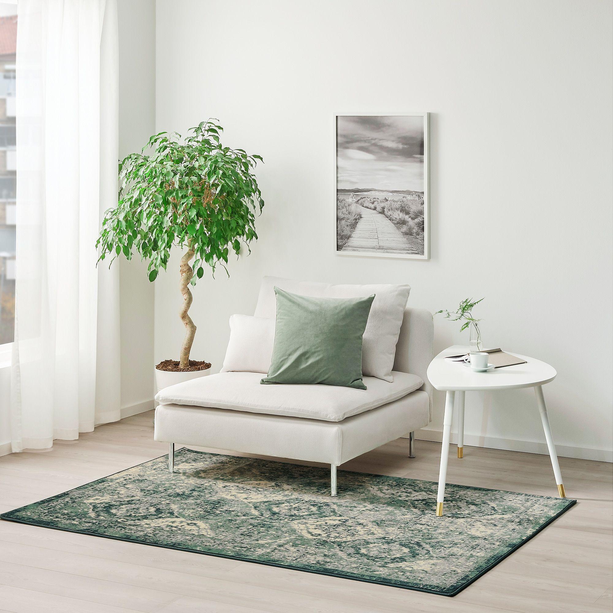 VonsbÄk Teppich Kurzflor Grün Hier Entdecken Ikea Österreich Ikea Rug Vedbaek How To Clean Carpet