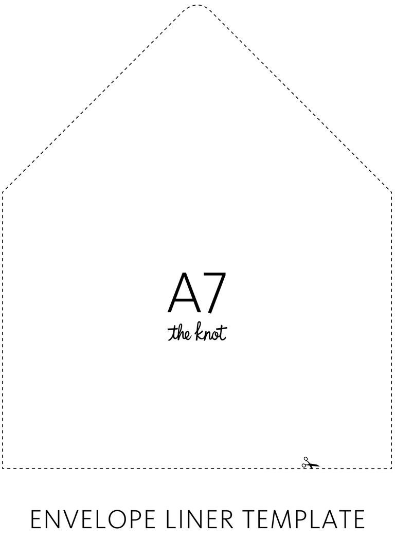 Ideas Advice A7 Envelope Liner Template Envelope Printing Template Envelope Liner Template