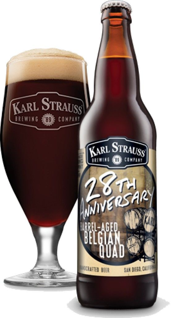 Karl Strauss - 28th Anniversary http://www.beer-pedia.com/index.php/news/19-global/3996-karl-strauss-28th-anniversary #beerpedia #karlstrauss #quadruple #willamette #bravo #fourroses #beerblog #beernews #newrelease #newlabel #craftbeer #μπύρα #beer #bier #biere #birra #cerveza #pivo #alus