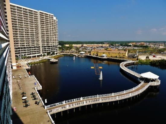 Panama City Beach From The Fishing Pier Picture Of Laketown Laketown Wharf Panama City Beach Florida Call Wendy With Keller Williams Success Pinterest