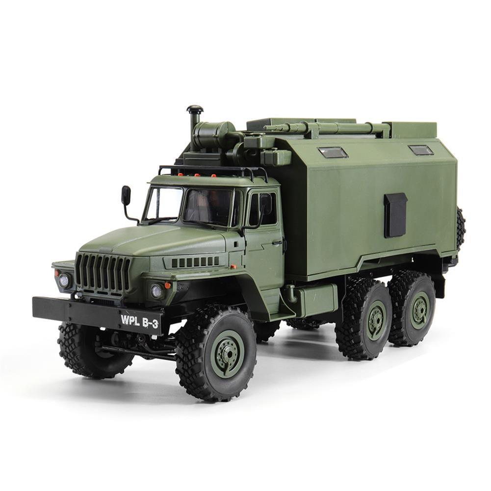 Wpl B36 Ural 1 16 Kit 2 4g 6wd Rc Car Military Truck Rock Crawler