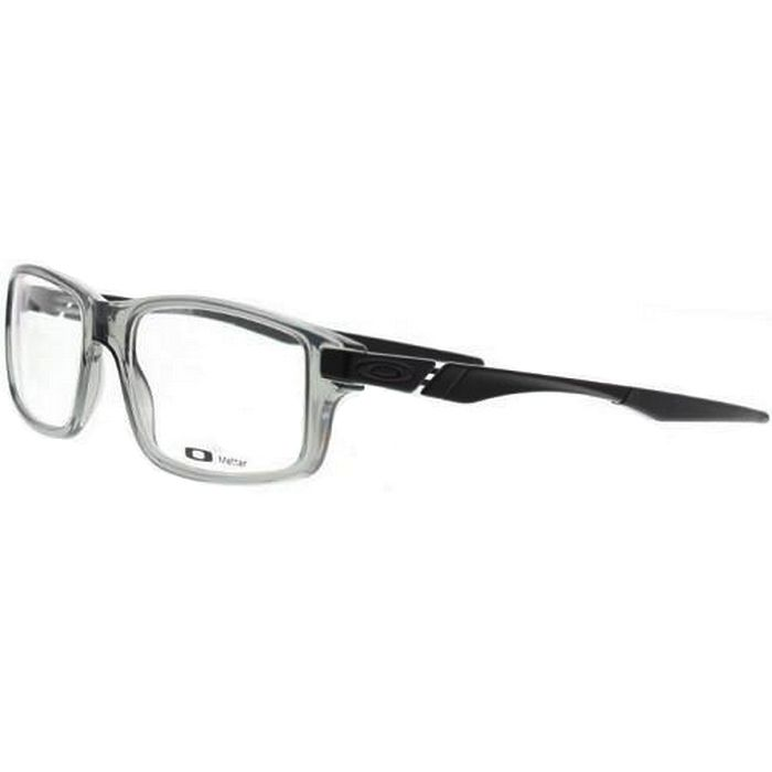 fb5020c6e1 Oakley OX8035-0452 Trailmix Men s Grey Frame Clear Lens Genuine Eyeglasses  NWT ewatchesusa.com