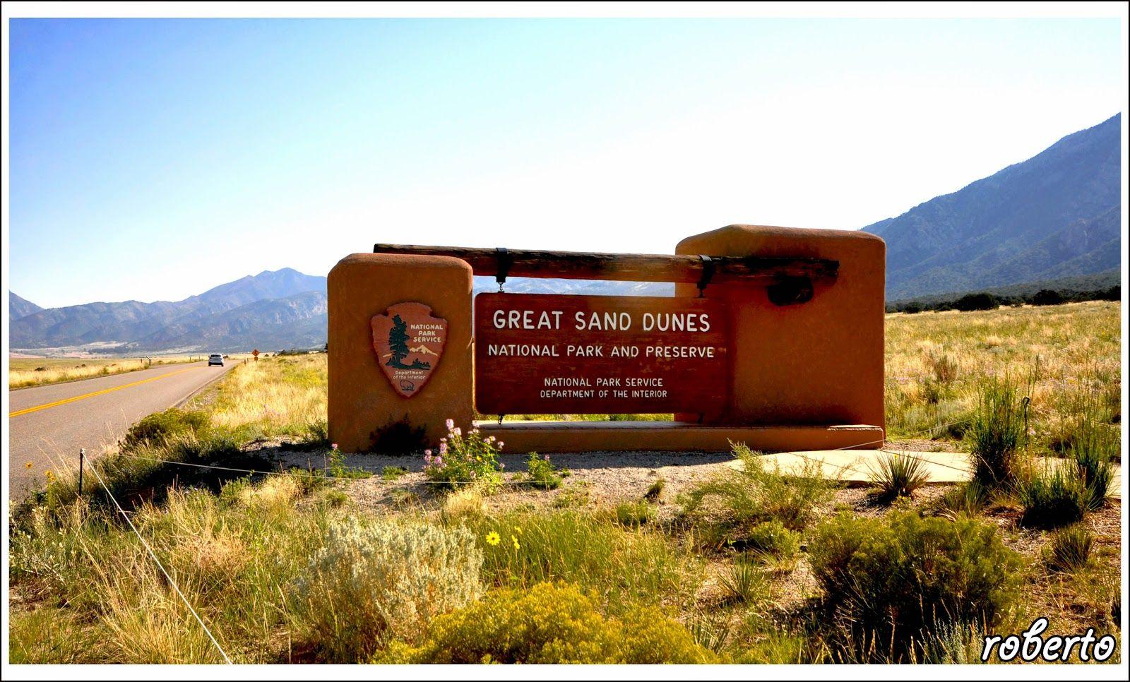 emozioni & viaggi: Great Sand Dunes - Colorado -  U.S. National Parks and Monuments