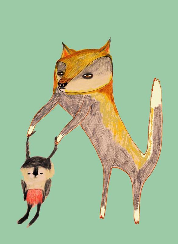 Fox and Bunny, Ashley Percival